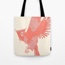 Tilted Bird Tote Bag