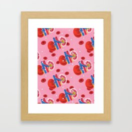 Kidney Framed Art Print