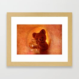 My Teddy Bear Toy Framed Art Print