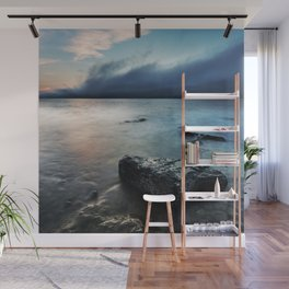 The Coming Fog Wall Mural