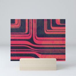 Red Line Conduits Mini Art Print