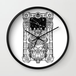 Minotaur's Labyrinth Wall Clock