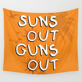 Suns Out Wall Tapestry