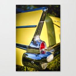 Classic Chevrolet Automobile Tail Fin Canvas Print