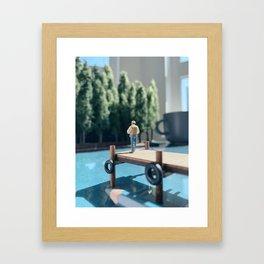 Peaceful Summer Framed Art Print