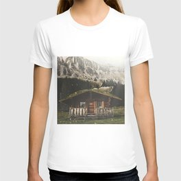 Sheep on the roof T-shirt