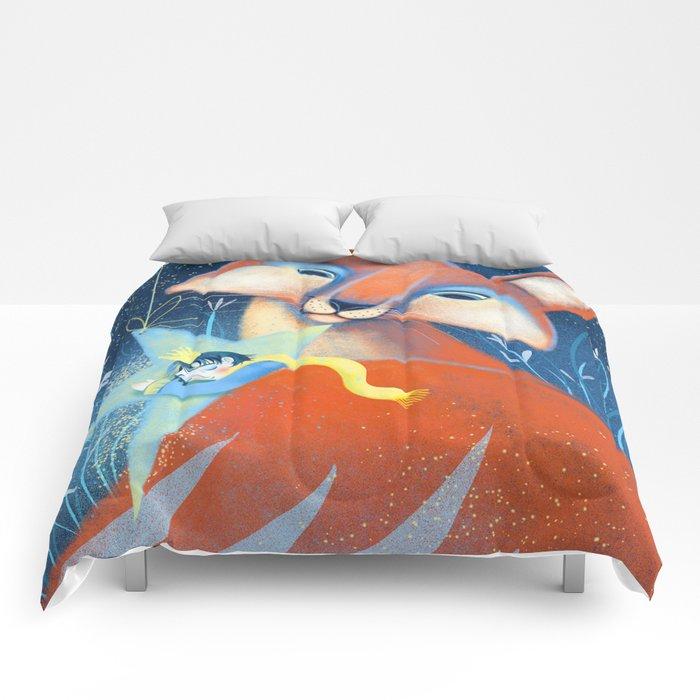the prince&the fox Comforters