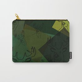 Buck Collage Carry-All Pouch