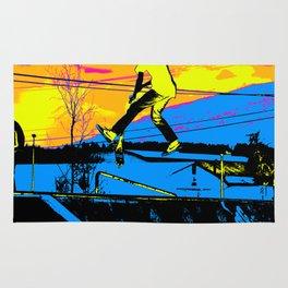 """Air Walking""  - Stunt Scooter Rug"