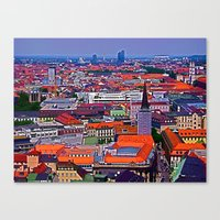 germany Canvas Prints featuring Germany by Kimberly Vogel Travel Photographer