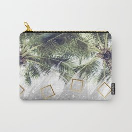 Palm trees and rhombuses Carry-All Pouch