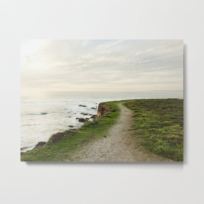 California Coast Trail Metal Print