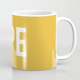 OPE Mustard Coffee Mug