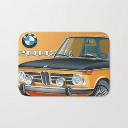 BMW 2002 ti Alpine from 1968 Bath Mat