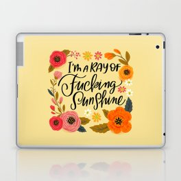 Pretty Swe*ry: I'm a Ray of Fucking Sunshine Laptop & iPad Skin