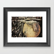 An art of Peacemaking Framed Art Print