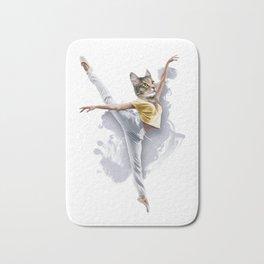 Dancing Cat Girl Pepe Psyche Bath Mat