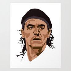 Ariel Ortega Art Print