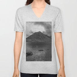 Tryfan Mountain Unisex V-Neck