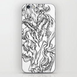 God Of The Wild Eternity iPhone Skin