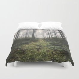 Unknown Road - landscape photography Duvet Cover
