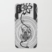 frog iPhone & iPod Cases featuring Frog by alicanto