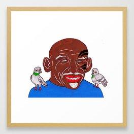 Mike Tyson 2 Framed Art Print
