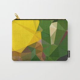 Iris yellow Carry-All Pouch