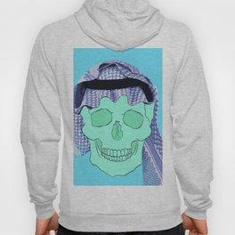 Blue Arabian Skull Hoody