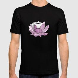 Lotus coffee T-shirt