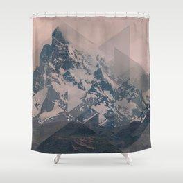 Perito Moreno COL Scattered Landscapes Shower Curtain