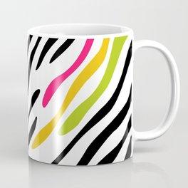 Zebra print. Multicolor Coffee Mug