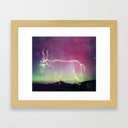Cosmic Goatse Framed Art Print