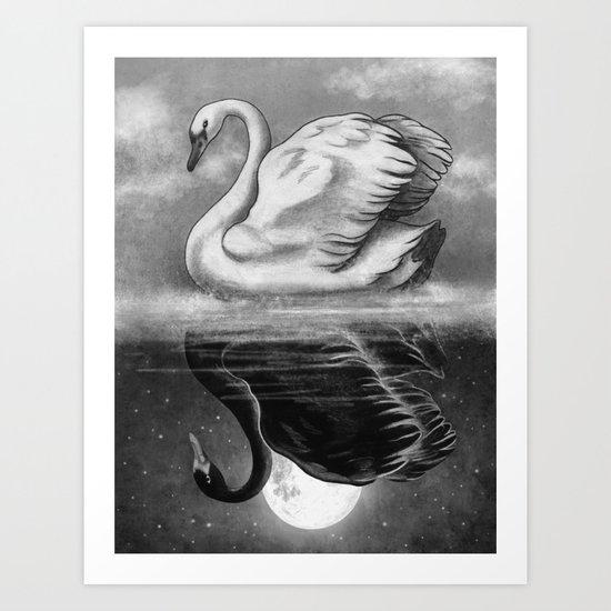 Dark Mirror  Art Print