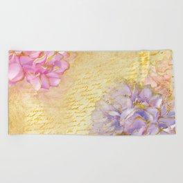 Luv Letter Beach Towel