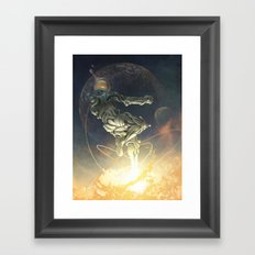 Cosmic Leap Framed Art Print
