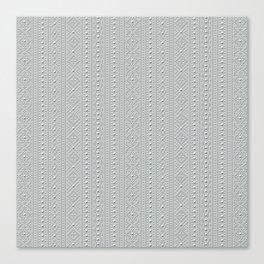 Studded Southwest Stripe on Slate Green Mist 2@50 Canvas Print
