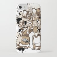 gundam iPhone & iPod Cases featuring Gundam Style by RiskeOne opc