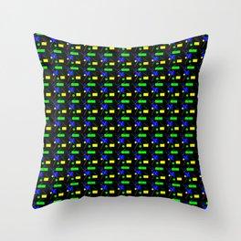 Chroma-Key Nightmare Throw Pillow