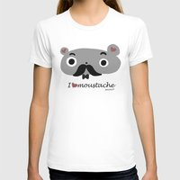 moustache T-shirts featuring moustache by Sucoco