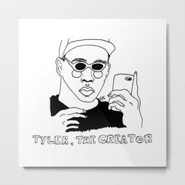 Tyler, The Creator Metal Print