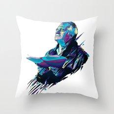 Paulie Walnut // OUT/CAST Throw Pillow