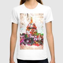 United States Capitol Grunge T-shirt