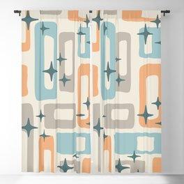 Mid Century Modern Geometric Abstract 189 Blackout Curtain