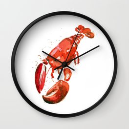 Greetings from Maine (No Text) Wall Clock