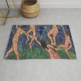 The Vegetarian Dance Fine Art Parody Rug