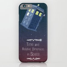 Time and Relative Dimension in Space iPhone 6s Slim Case