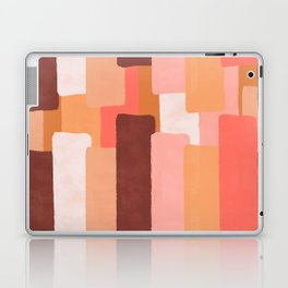 Line In Coral #society6 #abstractart Laptop & iPad Skin