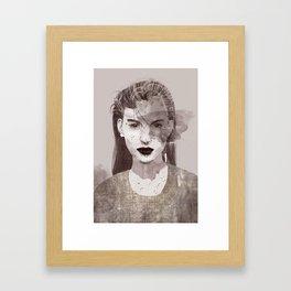 Look at me Framed Art Print