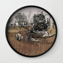 The Undefeated Chump Wall Clock